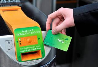 Dublin Leap card cost