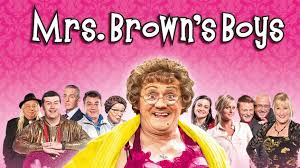 Mrs browns boys funny scene